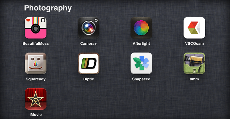 My Favourite Photography Apps - Emily Jane