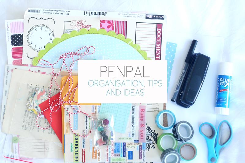 PenPalSnailMailLetterWritingOrganisationTipsTutorialsDIYIdeas2