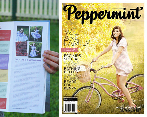 Peppermint magazine issue 12 emily jane crafty girl in a material world