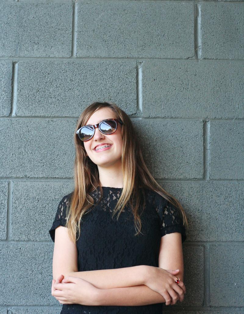 EmilyJane X Choies HoundstoothPrintedPantsTopShopFlatsBlackLaceTopSunglasses fashionbeautybloggerteenagervloggerstyle3