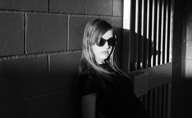 EmilyJane X Choies HoundstoothPrintedPantsTopShopFlatsBlackLaceTopSunglasses fashionbeautybloggerteenagervloggerstyle2