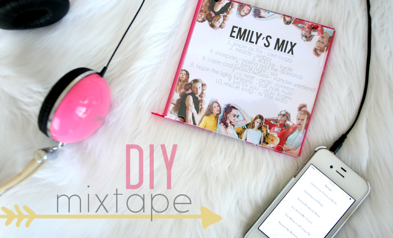 EmilyJaneBlog DIY Mixtape CD Playlist1