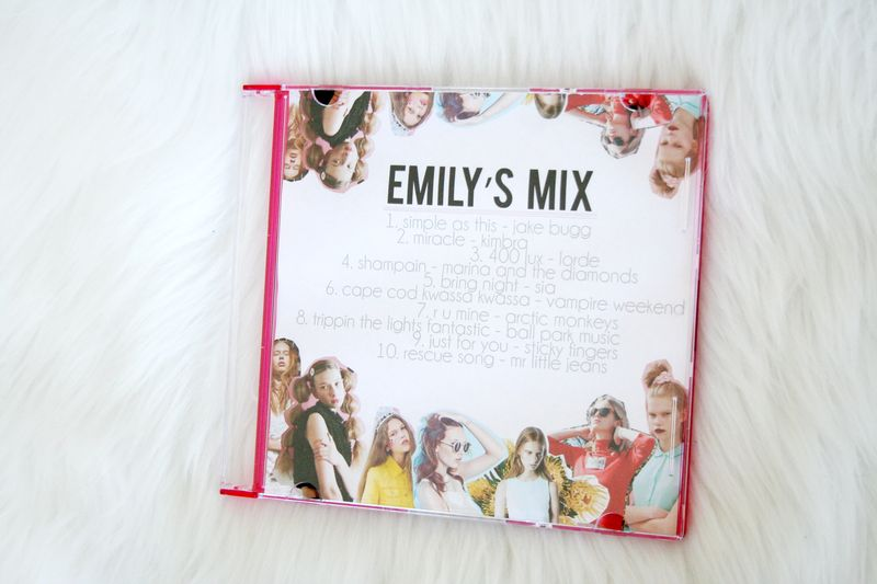 EmilyJaneBlog DIY Mixtape CD Playlist3