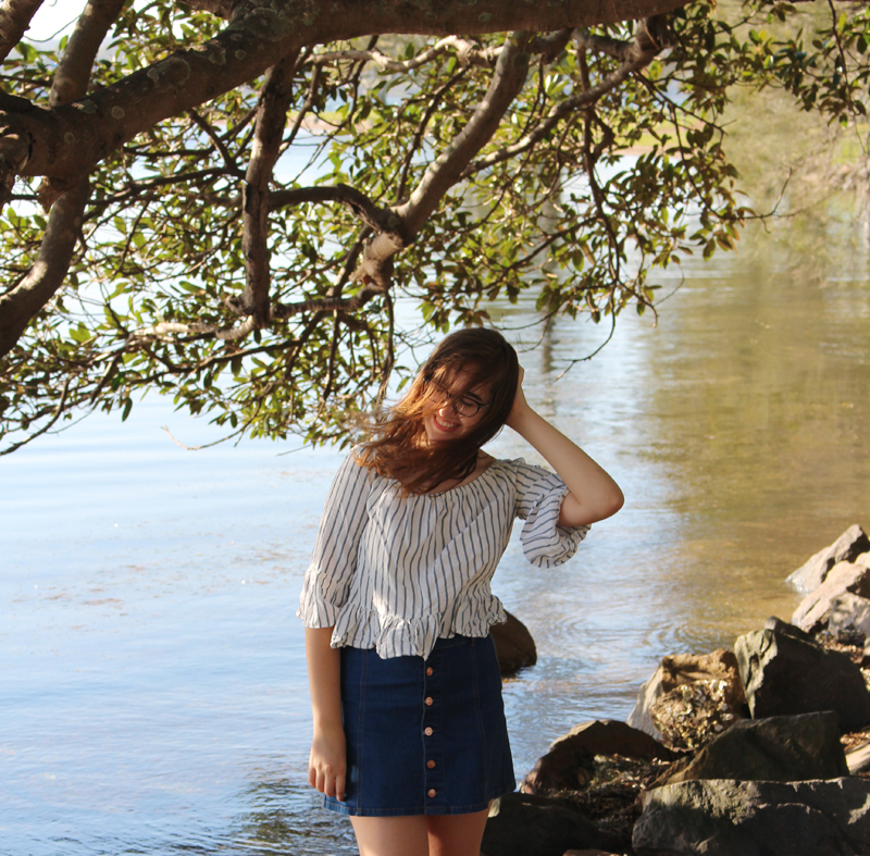 Emilyjaneblog fashion outfit post topshop supre saltwater sandals4