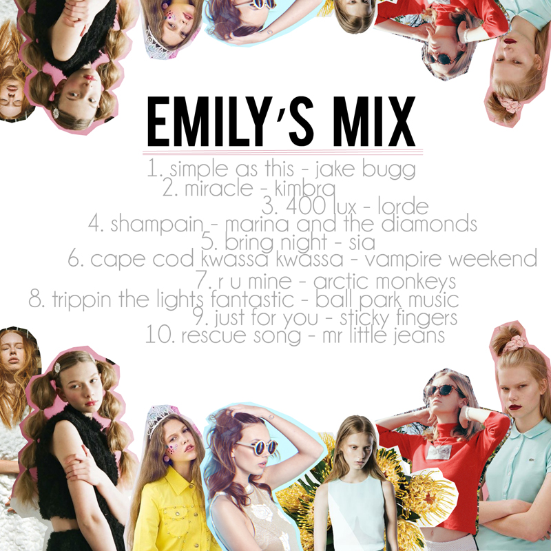 Emily Jane DIY Mix Cover