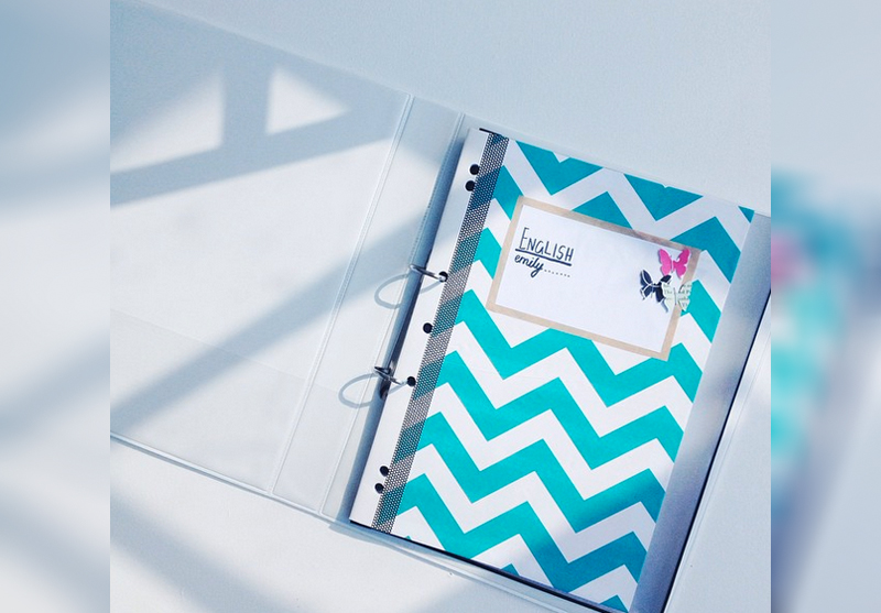 Emilyjaneblog DIY stationary notebook