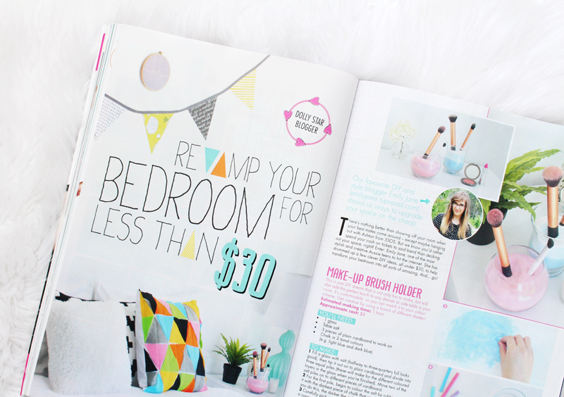 EmilyJaneBlog X DOLLYMagazine - Revamp your Bedroom for less than $30 1
