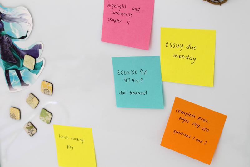 Emilyjaneblog Back To School study tips using color organisation high school hsc8