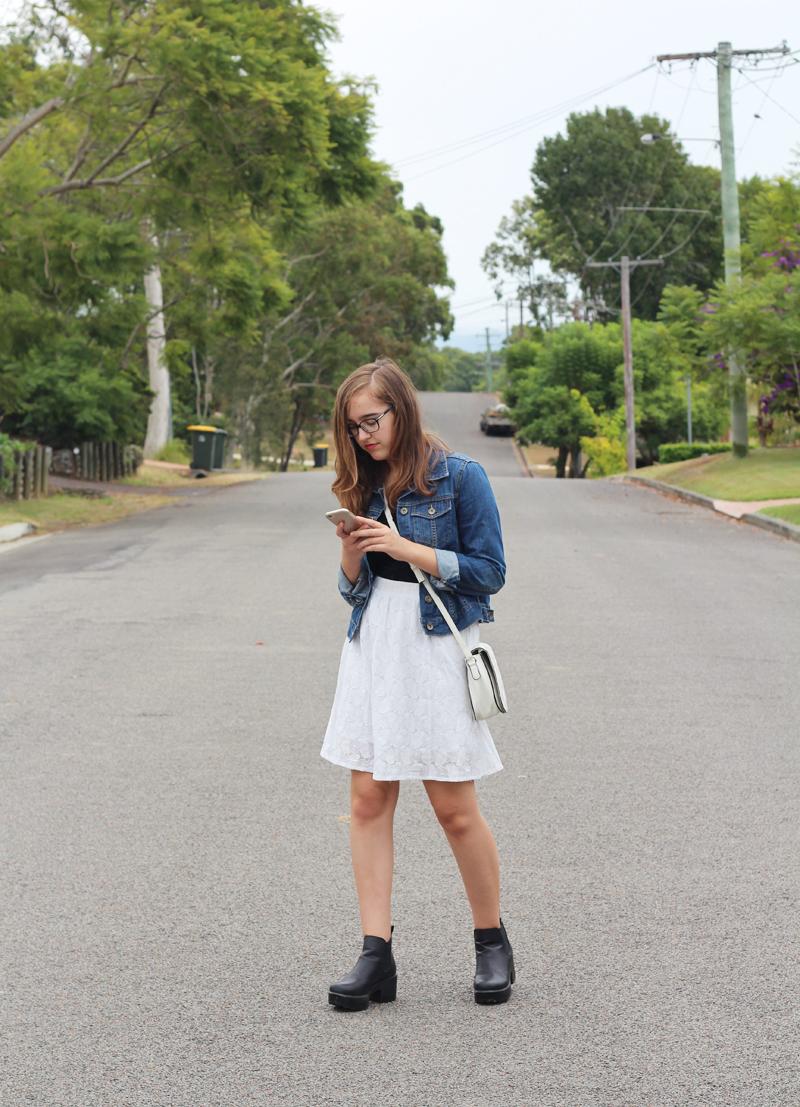 Emilyjaneblog fashionoutfitpost cottonon paperscissors minkpink rubishoes3