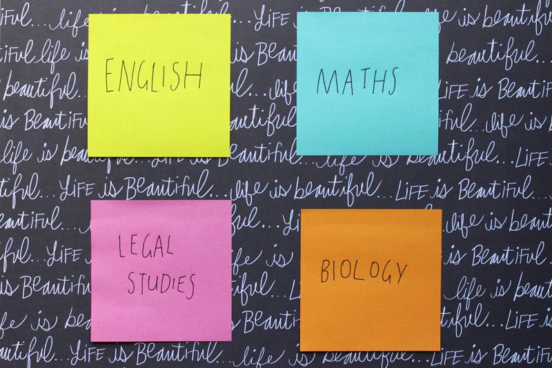 Emilyjaneblog Back To School study tips using color organisation high school hsc6