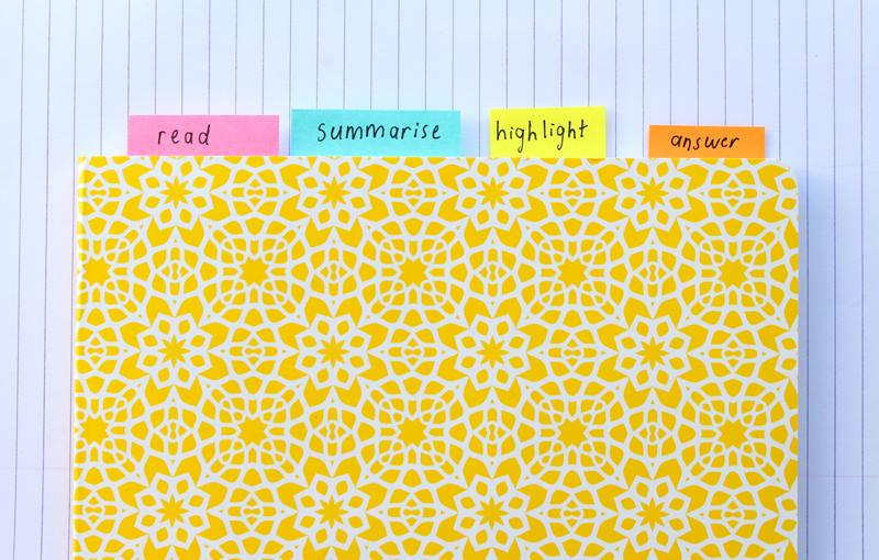 Emilyjaneblog Back To School study tips using color organisation high school hsc9